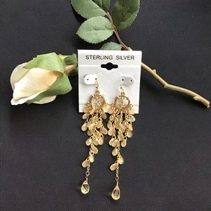 3/$15 SALE- Yellow Dangle Earrings